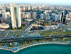 The Corniche has become such an integral part of the capital/ Abu Dhabi/ UAE