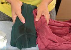 Los desodorantes estropean mucho la ropa. ¡Descubre cómo puedes limpiar esas manchas tan difíciles!