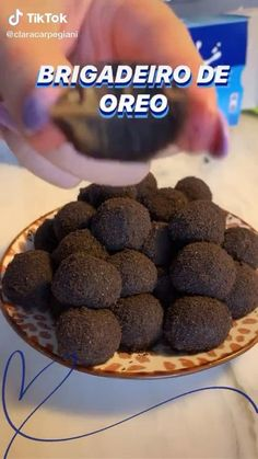Easy Baking Recipes, Snack Recipes, Dessert Recipes, Cooking Recipes, Chocolate Dishes, Oreo, Food Dishes, Food Videos, Sweet Recipes
