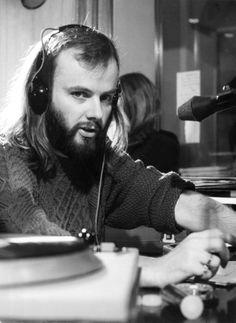 John Peel in the studio ◀○▶  my music teacher