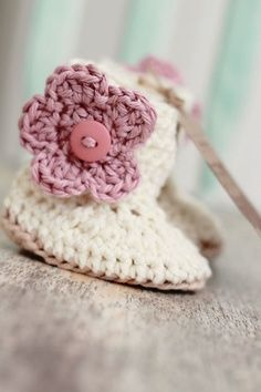 UGG Slipper Free Pattern Crochet | for little girls