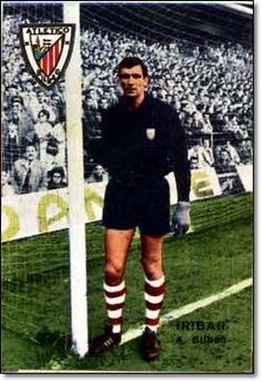 Iríbar. 1967-68. Athletic Club de Bilbao. Cromos Disgra.