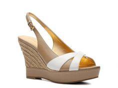 I love these!  Audrey Brooke Aggie Wedge Sandal Dress Sandals Sandal Shop Women's Shoes - DSW