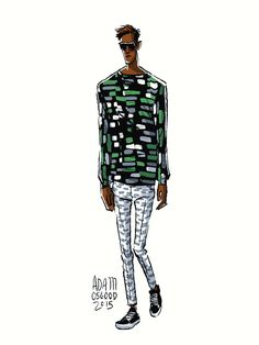 Discover the best fashion illustrations here!
