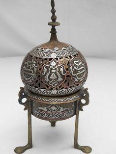 Islamic Arabic Incense Burner ~ #PerfectMuslimWedding