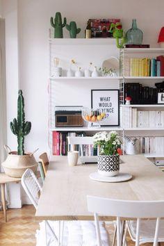 L'appartement parisien d'Azzed // Hëllø Blogzine blog deco & lifestyle www.hello-hello.fr #deco #scandinave #paris #hometour