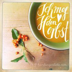 Hamburger Liebe: I like Herbst!