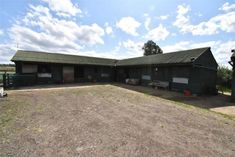 Check out this property for sale on Rightmove! Hay Barn, Maps Street View, Solar Lights, Stables, Acre, Property For Sale, Entrance, House Styles, Green