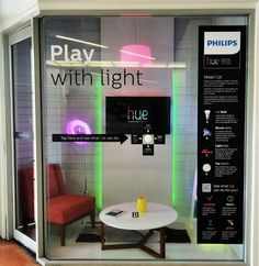 Phillips Lighting Hue Room Experiential Marketing gave shoppers the ability to… Phillips Hue Lighting, Experiential Marketing, Exhibit Design, Design Inspiration, Led, Digital, Creative, Room, Bedroom