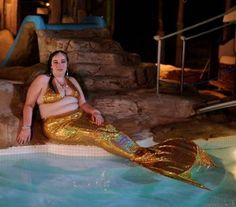 Woman In Mermaid Costume Bad Family Photos Funny Family Pics Awkward Family Photos crazy weird bad tattoos worst tattoos stupid people Family portraits strange