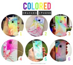 Cracked Iphone? Color!