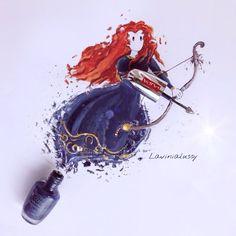 La Truccatrice di Unghie: dalle unghie alla moda, i disegni smaltati di Lavinia #unghie #nails #nailpolish #nailart #nailartist #nailaddict  #nails