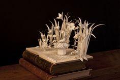 Alice in Wonderland book sculpture - Side view by AnemyaPhotoCreations.deviantart.com on @DeviantArt