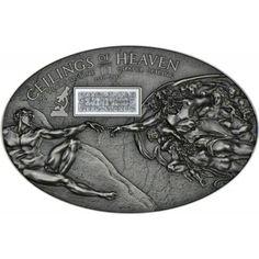 Cook Islands 5 Dollars Silber Sixtinische Kapelle PL Auflage: 999  Feinheit: 999/1000  Erhaltung: PL  Material: Silber  Raugewicht (g): 25,00  Feingewicht (g): 24.97  Nominale: NZD 5  Ausgabejahr: 2012  Ausgabedatum:  Land: Cook Islands  Lieferumfang: In Kapsel mit Zertifikat  Anmerkung: Bei den angezeigten Bildern handelt es sich um Symbolfotos.