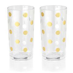 kate spade new york highball glasses $30.00 | Lifeguard Press