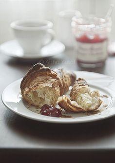 """Croissant"" by Aisha Yusaf"