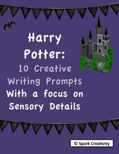 Let students imagine they are at Hermione Granger's birthday party, Hagrid's helper in the forbidden forest, or head of a new house at Hogwarts! All while learning about sensory detail.