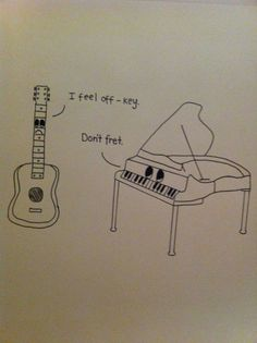 trendy Ideas for music humor piano funny Classical Music Humor, Music Jokes, Music Humour, Funny Music, Piano Funny, Band Jokes, Band Puns, Band Nerd, Funny Puns