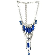 Laszlo Necklace Blue, now featured on Fab.