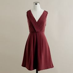 Fall Bridesmaids dress (wine country)