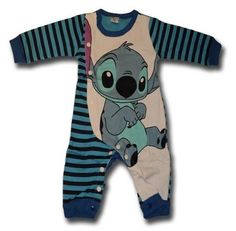 Stitch Body suit / Romper - Baby Boys Clothes #babyclothesdisney