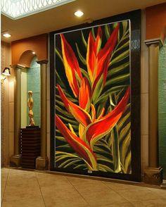 Pineapple Wallpaper, Tropical Art, Acrylic Art, Beautiful Paintings, Painting Inspiration, Art Pictures, Flower Art, Canvas Wall Art, Pop Art