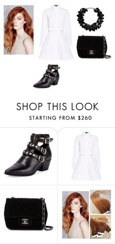 """Untitled #895"" by laurie-egan on Polyvore featuring Yves Saint Laurent, Alexander Wang, Chanel and First People First"