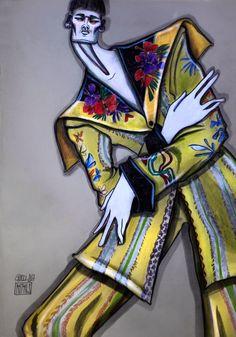Illustration.Files: Gucci S/S 2017 Fashion Illustration by Alexandre Desmidt