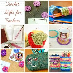 Crochet Gifts for Teachers Teacher Appreciation Gifts … Crochet Gifts for Teachers Crochet Pillow, Crochet Yarn, Crochet Flowers, Irish Crochet, Crochet Stitches, Free Crochet, Crochet Teacher Gifts, Teacher Appreciation Gifts, Crochet For Kids