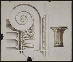 Architectural Drawing – Decorative Detail