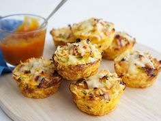 Vegetable, Ham and Noodle Cups