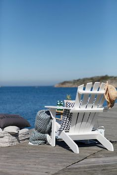 Adirondack Chair with a view Porches, Scentsy, Cap Ferret, I Love The Beach, Beach Chairs, Lounge Chairs, Beach Cottages, Coastal Living, Coastal Style