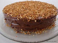 Más dulce que salado: Tarta de Obleas y Chocolate (Tarta Huesitos)