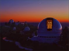 Lick Observatory photographed by Laurie Hatch.