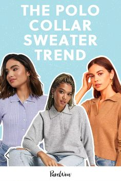 Here at PureWow, we're loving the polo collar sweater trend this season. Few things are certain in life. But at this very moment in time, it's very, very likely that your go-to brand for sweaters has a polo collar style in their lineup.