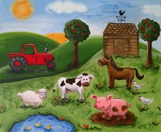 Farm Canvas