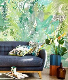 mural-papel-pintado-jaguars-verde