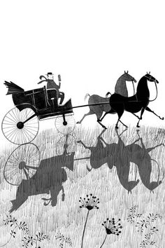 Misterio en 'Érase una aldea sin suerte', ilustrado por Anuska Allepuz, en la colección Tucán de Edebé.