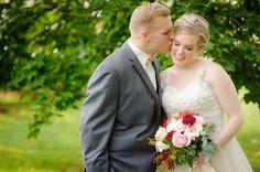 VA Real Wedding - Bergerons Flowers - Bergerons Event Florist Blog - Megan and David's Vineyard Wedding