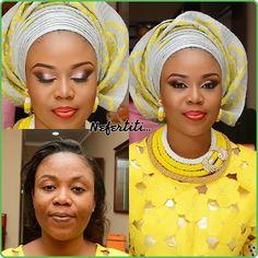 brown nigerianwedding yorubabride nigerianwedding