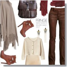 Fringed long cashmere wrap sweater and layered leather bag in brown. Fringe Wrap by simply-one on Polyvore featuring 360 Sweater, Raey, Ralph Lauren Collection, Ralph Lauren, Lucky Brand, GALA and fringe #fringe #fringed #cashmere #sweater #poncho #cardigan #cardi #duster #cape