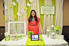 I like the backdrop. Pauleen At Canandaigua Inn On The Lake Bridal Show