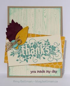Stampin' Up! Convention 2014 Display Boards - Seasonally Scattered - Amy Bollman