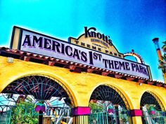 Knott's Berry Farm in Buena Park, CA