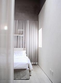 Riva Lofts Florence Loft, Jacuzzi Bathtub, Stylish Furniture, Furniture, Curtains, Bed, Home, Interior, Home Decor