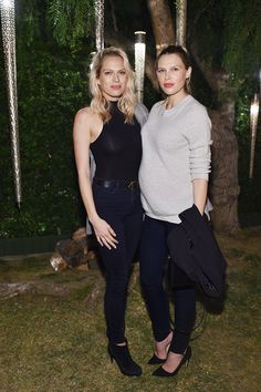 C Social Front Olivier Rousteing's Birthday -- Erin Foster & Sara Foster Sara Foster, Social Class, Olivier Rousteing, Celebs, Celebrities, 30th Birthday, The Fosters, Style Me, Normcore