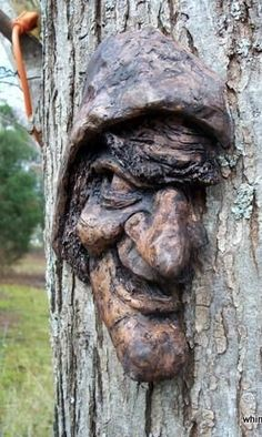 The Wicked Witch on the tree - Paul Nixon's art.