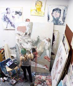 Studio from above last week