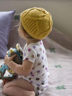 Baby Cap Knitting Pattern