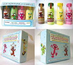 Monster Milk package design by striffle.deviantart.com on @deviantART PD